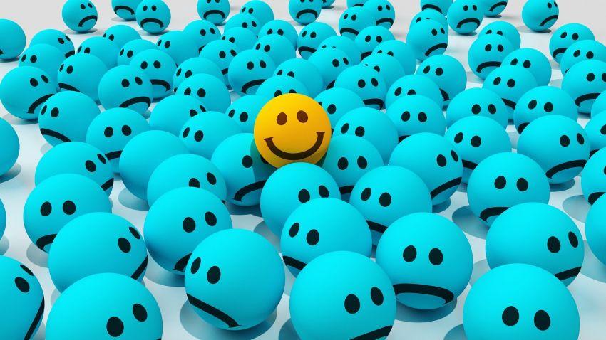 Den negativen Gedanken keinen Platz geben – und so den Stress im Griff haben.